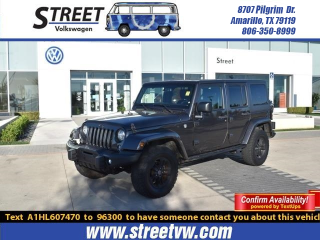 Pre-Owned 2017 Jeep Wrangler Unlimited WINTER 4X4
