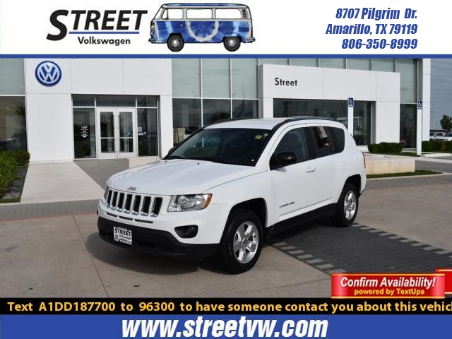Pre-Owned 2013 Jeep Compass FWD 4DR SPORT