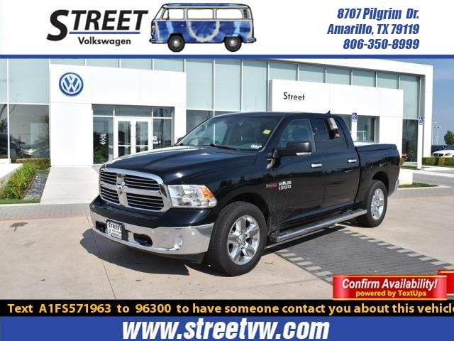 Pre-Owned 2015 Ram 1500 4WD CREW CAB 140.5 SLT