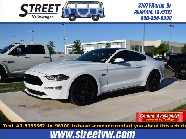 Pre-Owned 2018 Ford Mustang GT PREMIUM FASTBACK