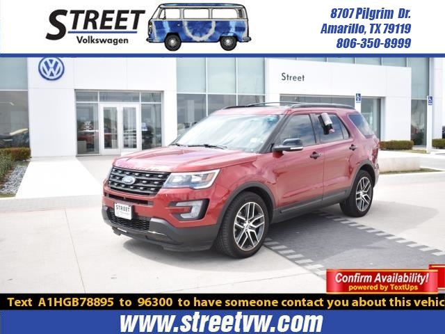Pre Owned 2017 Ford Explorer Sport 4wd