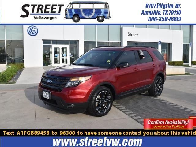 2015 Ford Explorer For Sale >> Pre Owned 2015 Ford Explorer 4wd 4dr Sport Suv For Sale In Amarillo Tx