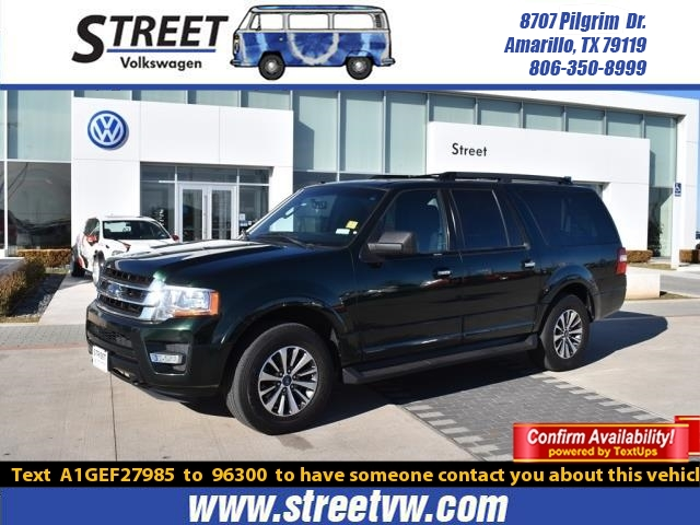 2016 Ford Expedition El >> Pre Owned 2016 Ford Expedition El 4wd 4dr Xlt Suv For Sale In Amarillo Tx