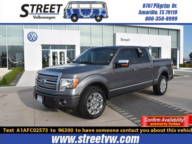 Pre-Owned 2010 Ford F-150 2WD SUPERCREW 145 PLATINUM