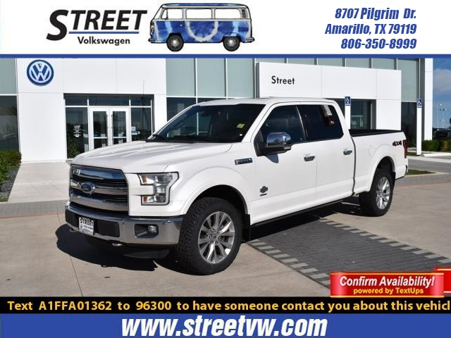 2015 Ford F 150 For Sale >> Pre Owned 2015 Ford F 150 4wd Supercrew 157 King Ranch Truck For Sale In Amarillo Tx