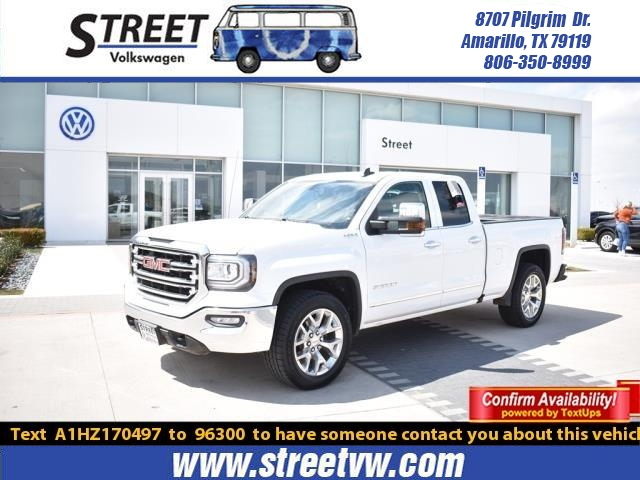 Pre Owned 2017 Gmc Sierra 1500 4wd Double Cab 143 5 Slt