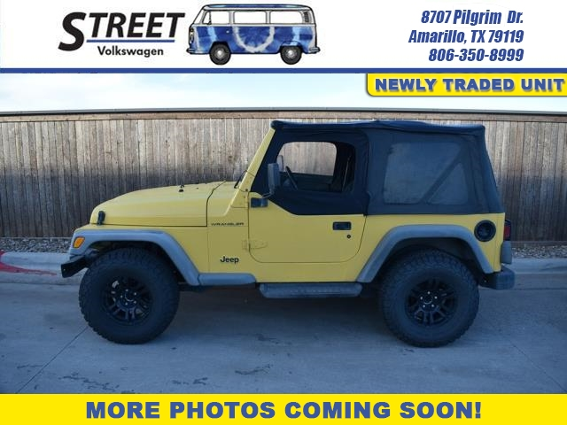 Pre-Owned 2000 Jeep Wrangler 2DR SE