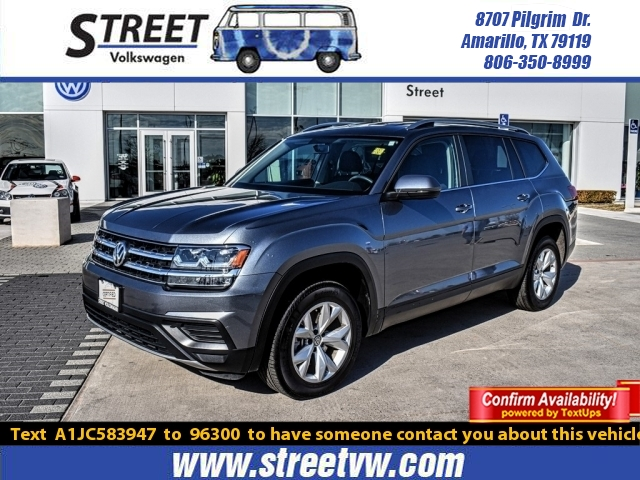 Certified Pre-Owned 2018 Volkswagen Atlas 2.0T S FWD