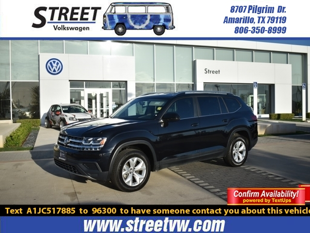 Certified Pre-Owned 2018 Volkswagen Atlas 3.6L V6 S 4MOTION