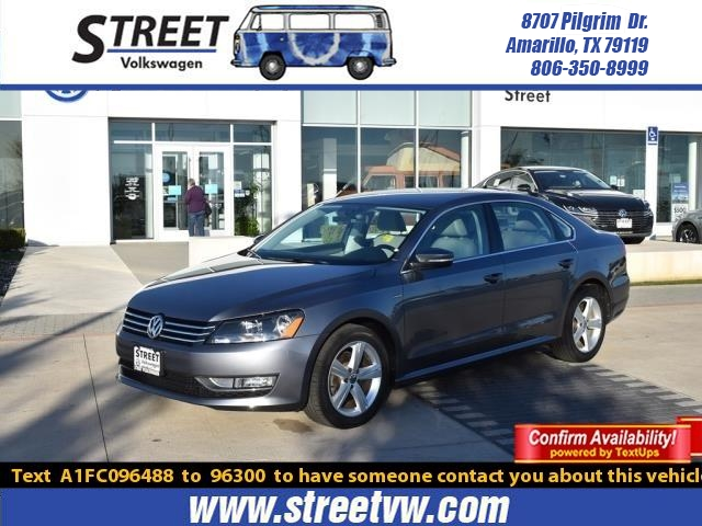 Certified Pre-Owned 2015 Volkswagen Passat 4DR SDN 1.8T AUTO LIMITED EDITION