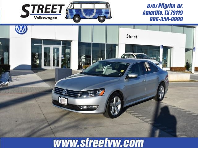 Certified Used 2015 Volkswagen Passat For Sale Amarillo Tx