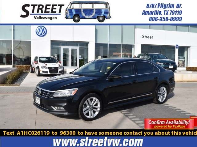 Certified Pre-Owned 2017 Volkswagen Passat 1.8T SE W/TECHNOLOGY AUTO