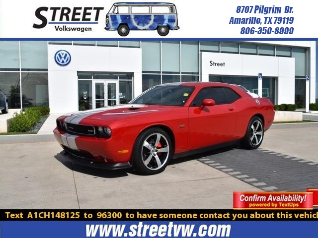 Pre-Owned 2012 Dodge Challenger 2DR CPE SRT8 392