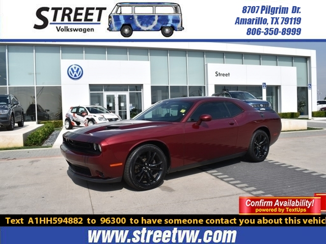Pre-Owned 2017 Dodge Challenger SXT PLUS COUPE