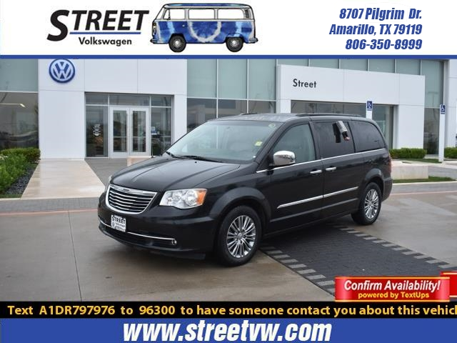 Pre-Owned 2013 Chrysler Town & Country 4DR WGN TOURING-L