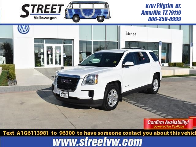 Used 2016 Gmc Terrain For Sale Amarillo Tx Rh8862a
