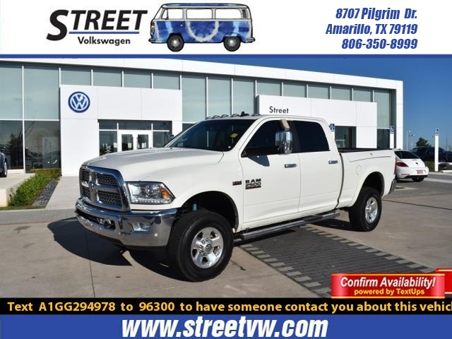 Pre-Owned 2016 Ram 2500 4WD CREW CAB 149 LARAMIE POWER WAGON
