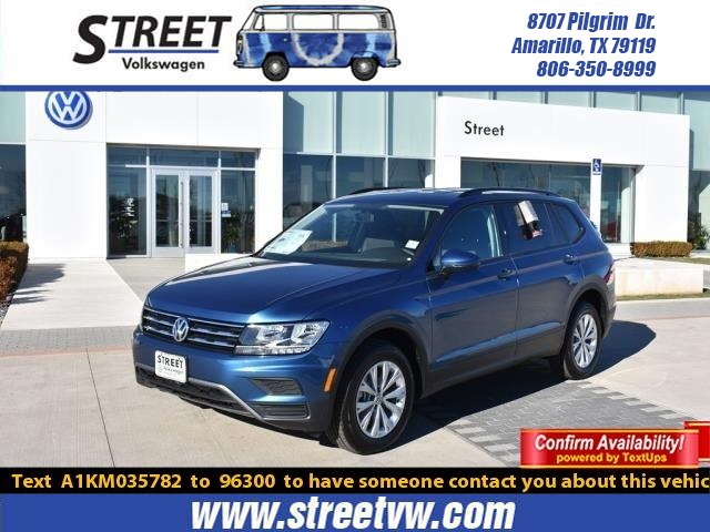 New 2019 Volkswagen Tiguan For Sale Amarillo Tx Lubbock Tb7398