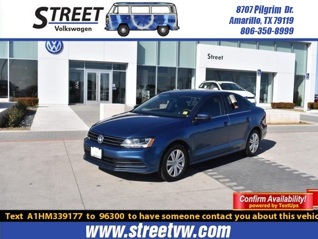 certified used 2017 volkswagen jetta for sale | amarillo tx
