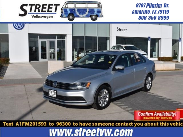 Certified Pre-Owned 2015 Volkswagen Jetta Sedan 4DR MAN 2.0L TDI SE W/CONNECTIVITY