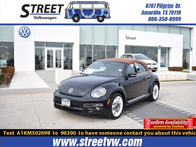 New 2019 Volkswagen Beetle Convertible FINAL EDITION SEL AUTO