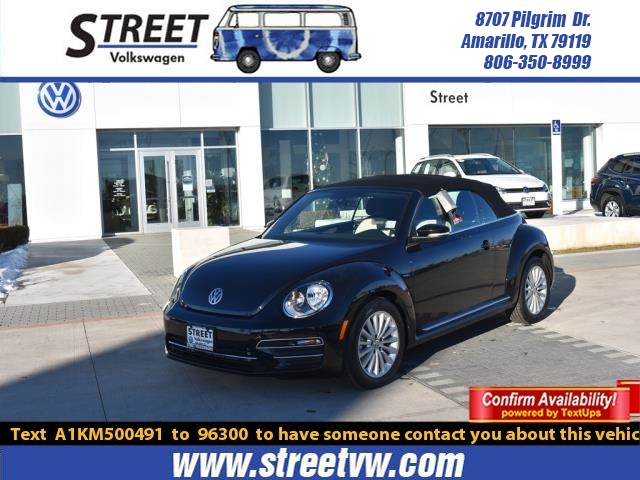 New 2019 Volkswagen Beetle Convertible FINAL EDITION SE AUTO