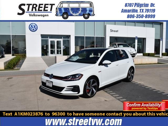 New 2019 Volkswagen Golf GTI 2.0T SE MANUAL