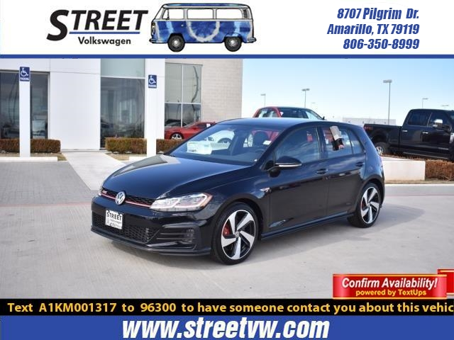 New 2019 Volkswagen Golf GTI 2.0T SE DSG