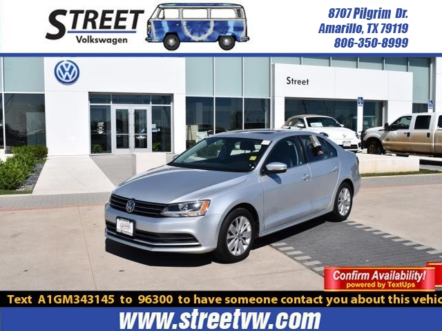 Certified Pre-Owned 2016 Volkswagen Jetta Sedan 4DR AUTO 1.4T SE W/CONNECTIVITY