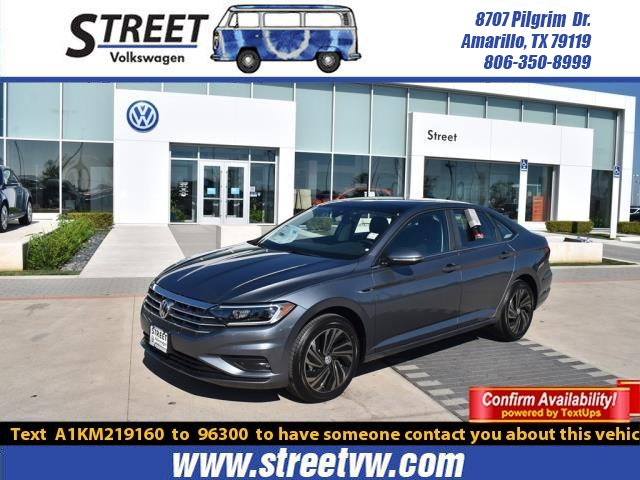 New 2019 Volkswagen Jetta SEL PREMIUM AUTO W/ULEV With Navigation For Sale in Amarillo, TX
