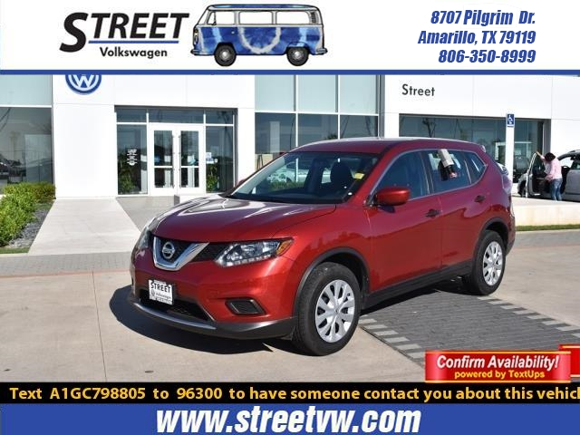 2016 Nissan Rogue For Sale >> Used 2016 Nissan Rogue For Sale Amarillo Tx Tj2848a