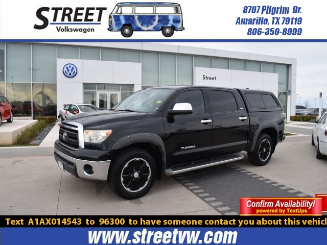 Pre-Owned 2010 Toyota Tundra 2WD Truck CREWMAX 4.6L V8 6-SPD AT