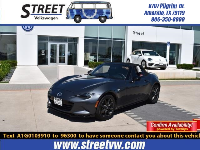 Pre-Owned 2016 Mazda MX-5 Miata 2dr Conv Auto Club