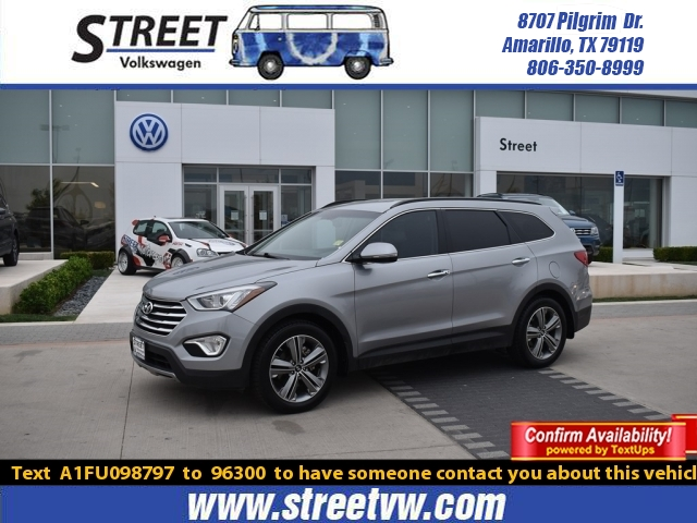 used 2015 hyundai santa fe for sale amarillo tx wm6258a street volkswagen of amarillo