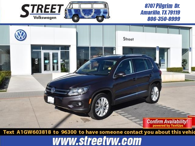 Certified Pre-Owned 2016 Volkswagen Tiguan 2WD 4DR AUTO SE