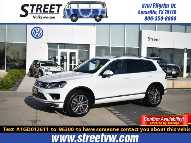 Certified Pre-Owned 2016 Volkswagen Touareg 4DR V6 LUX
