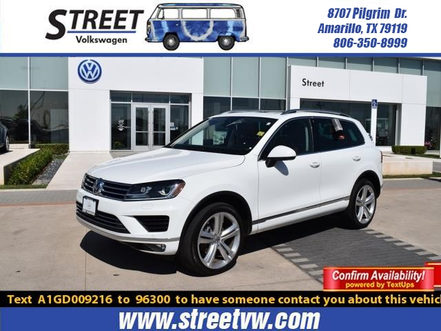 Certified Pre-Owned 2016 Volkswagen Touareg 4DR V6 EXECUTIVE