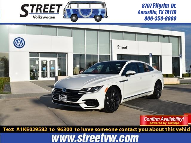 New 2019 Volkswagen Arteon SEL R-LINE FWD With Navigation For Sale in Amarillo, TX