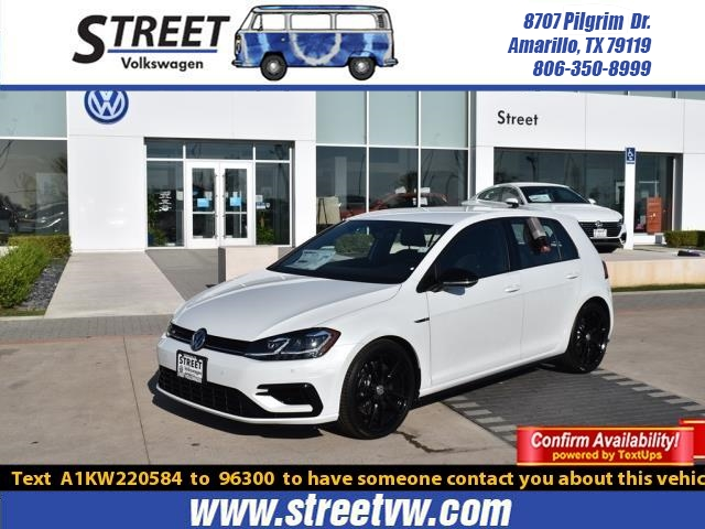 New 2019 Volkswagen Golf R 2 0T DSG W/DCC/NAV With Navigation & AWD For  Sale in Amarillo, TX