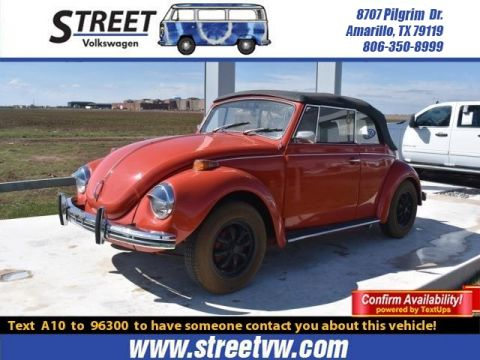 Pre-Owned 1972 Volkswagen BEETLE CONVERTIBLE