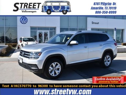Certified Pre-Owned 2019 Volkswagen Atlas 2.0T S FWD