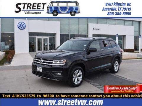2019 Volkswagen Atlas For Sale Amarillo Tx Lubbock