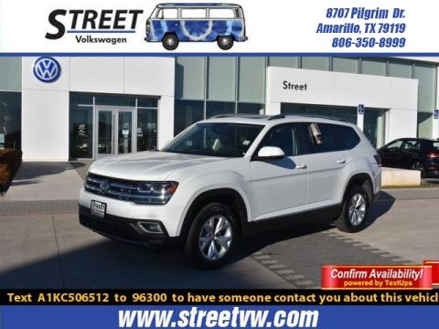 New Volkswagen Atlas For Sale Amarillo Tx Lubbock