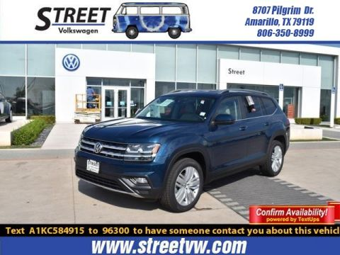 New 2019 Volkswagen Atlas 2.0T SE W/TECHNOLOGY FWD