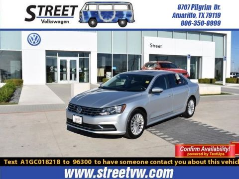 Certified Pre-Owned 2016 Volkswagen Passat 4DR SDN 1.8T AUTO SE
