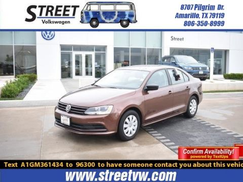 Certified Pre-Owned 2016 Volkswagen Jetta Sedan 4DR AUTO 1.4T S