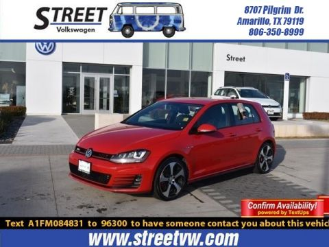 Certified Pre-Owned 2015 Volkswagen Golf GTI 4DR HB DSG S