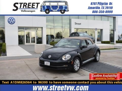 Certified Pre-Owned 2013 Volkswagen Beetle Convertible 2dr DSG 2.0L TDI