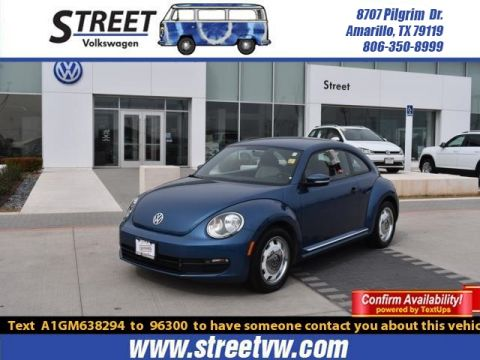 Certified Pre-Owned 2016 Volkswagen Beetle Coupe 2DR AUTO 1.8T CLASSIC