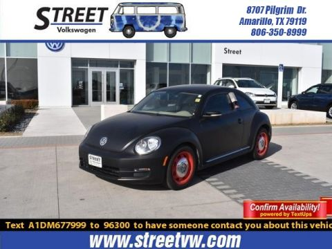 Certified Pre-Owned 2013 Volkswagen Beetle Coupe 2DR AUTO 2.5L
